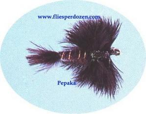 Filoplume Mayfly Black