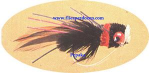 Black Ann Red Bass Bug
