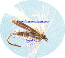 Diving Caddis Gray